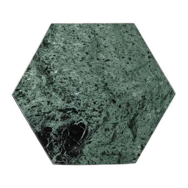 Green Marble Hexagon Tray/Cutting Board