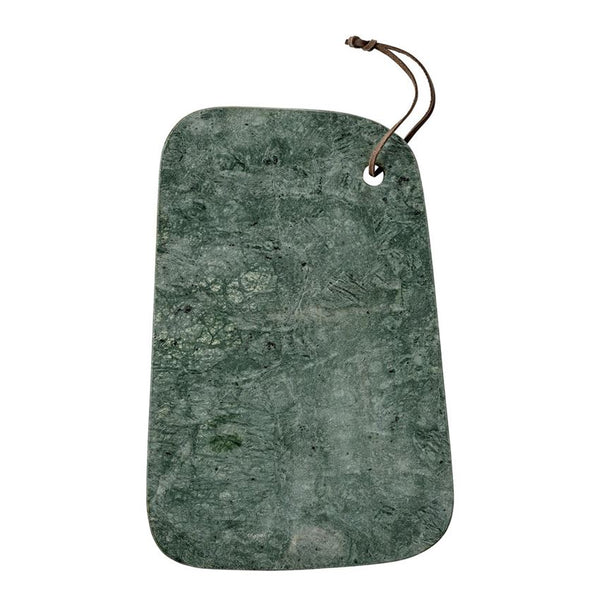 Green Marble Cutting Board with Strap