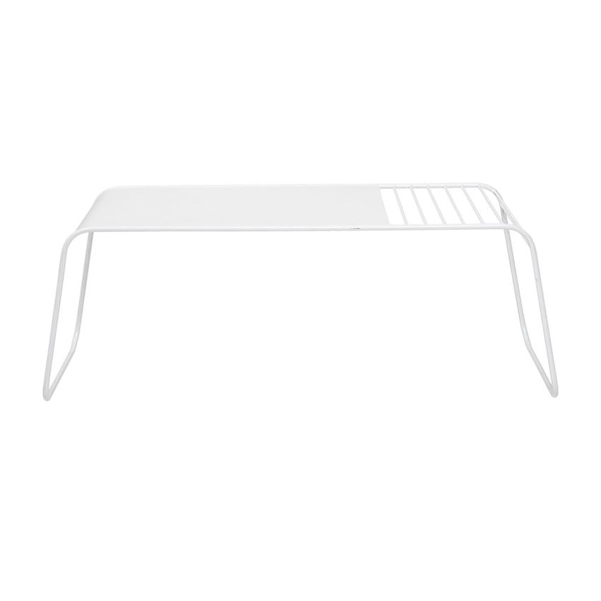 Metal Alissa Coffee Table in White