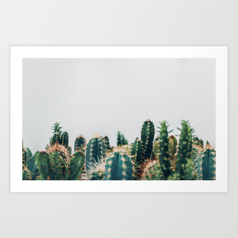 Cactus Cluster Print - 2 sizes available