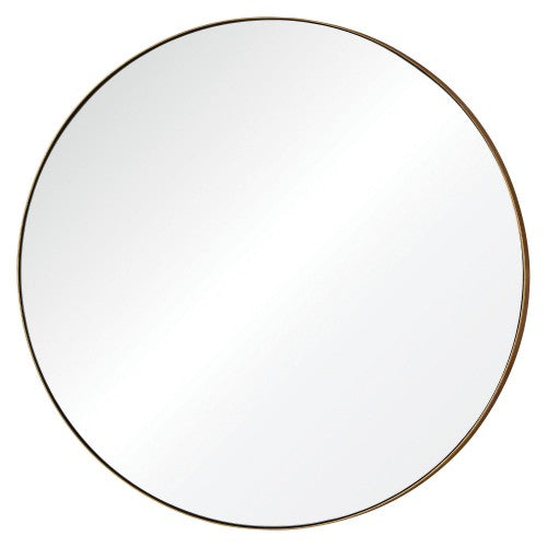 Excellent Round Gold Leaf Mirror – Simply Grove Shop VE97