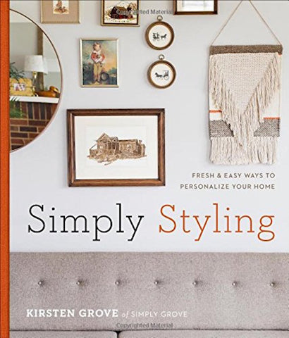 Simply Styling signed By Kirsten Grove