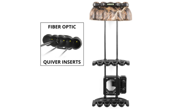 Silent Quiver w/ Fiber Optic Inserts