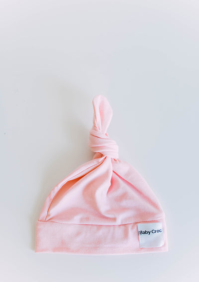 Light Pink Top Knot(ch) Hat
