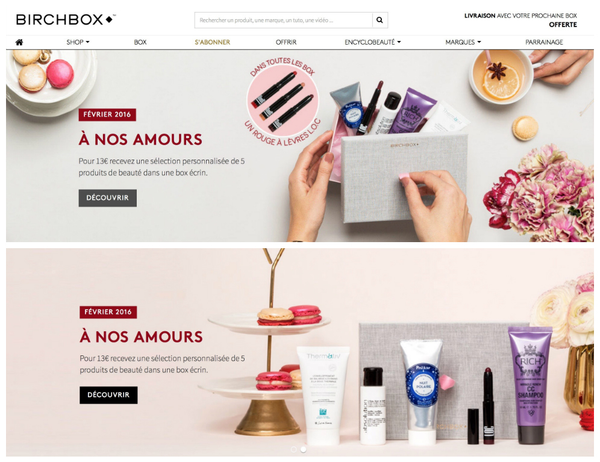 RICH featured in Birchbox.fr