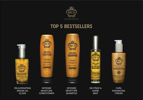 RICH top 5 bestselling products