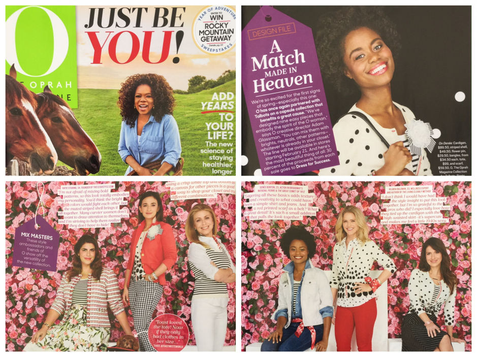 Behind the scenes of the Oprah magazine
