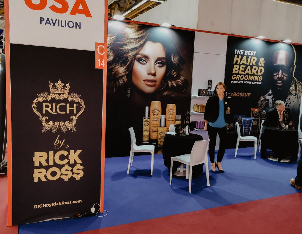 RICH booth at Bologna Expo 2019