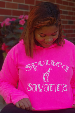 Polka Dot Savanna - Hot Pink - Large