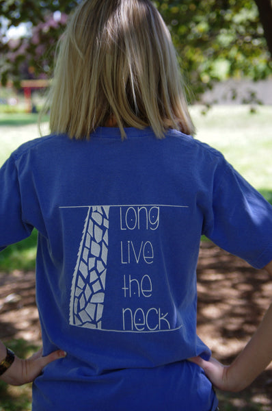 Long Live The Neck - Flo Blue - Medium