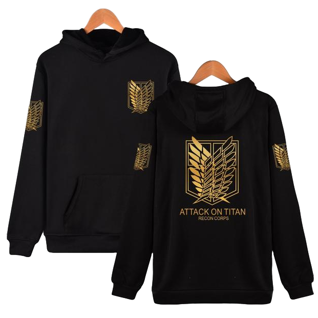 Attack on Titan Hoodie (2 colors)
