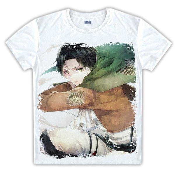 Attack on Titan Levi Graphic Tee