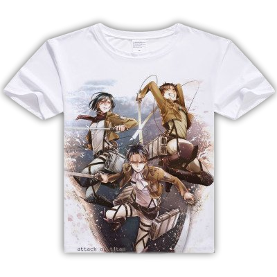 Attack on Titan Survey Corps Graphic Tees