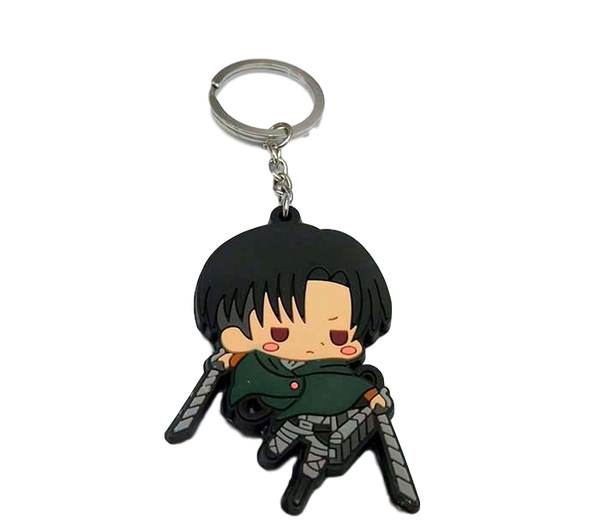 Attack on Titan Chibi Levi Keychain