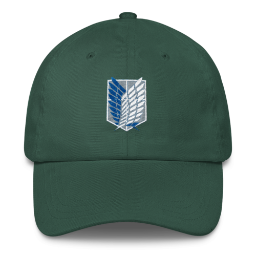 Embroidered Attack on Titan Hat