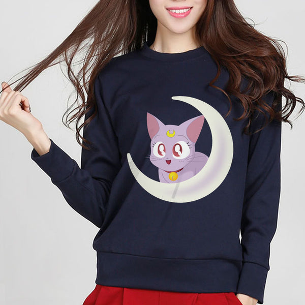 Sailor Moon Cat Sweatshirt