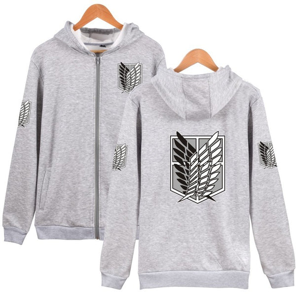Attack on Titan Zipper Hoodies (5 colors)