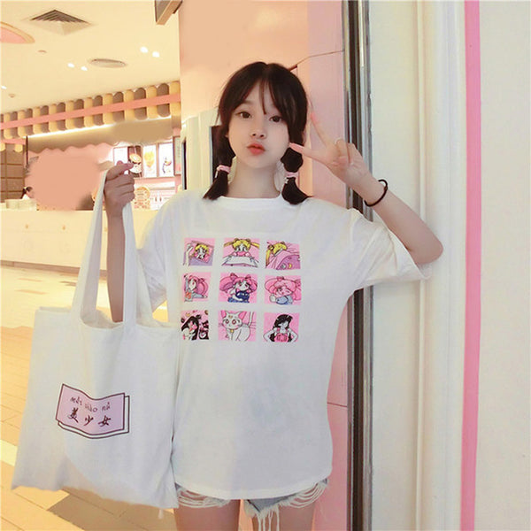 Sailor Moon Oversized Shirt