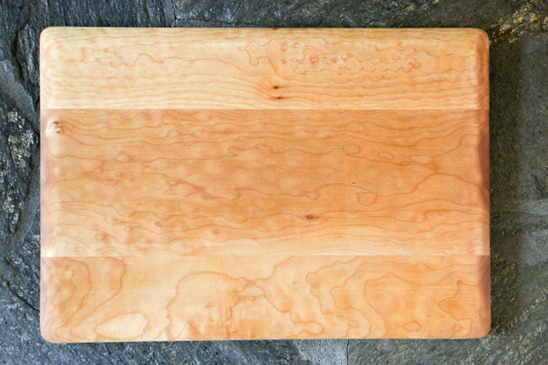 "Curly Western Maple Cutting Board - 14"" x 20"" (Large)"