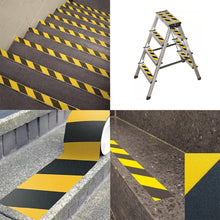 Anti Slip Traction Tape Best Grip Friction Abrasive Adhesive for Stairs  Indoor Outdoor Black/Yellow
