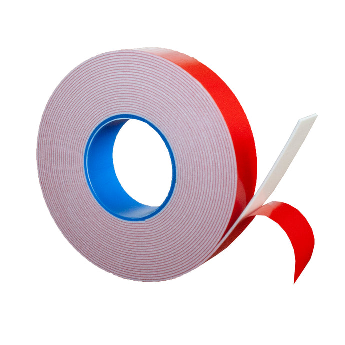 PE Foam Double-Sided Adhesive Tape (Wide 4/5 in; Long 16 Ft) -Outdoor and Indoor Super Strong