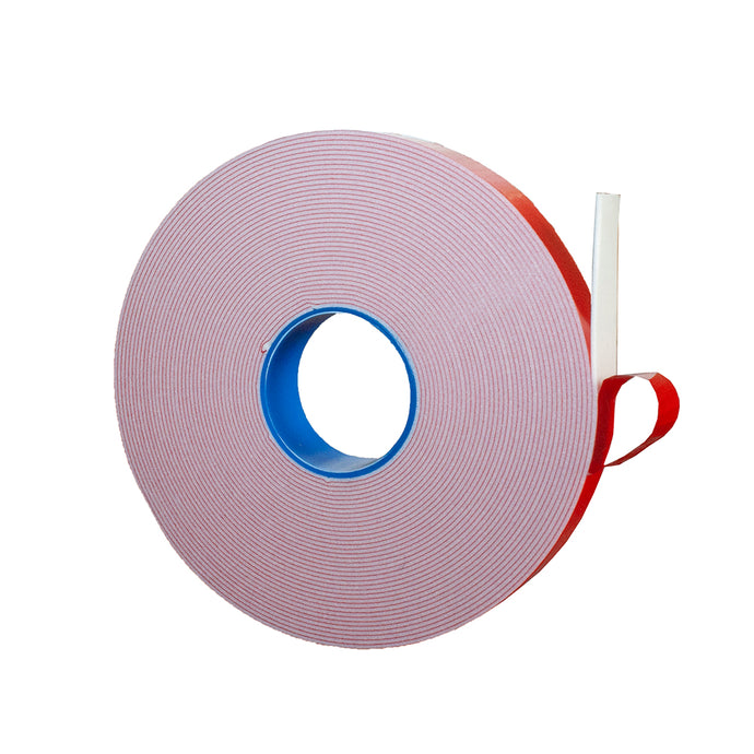 PE Foam Double-Sided Adhesive Tape (Wide 4/5 in; Long 33 Ft) -Outdoor and Indoor Super Strong