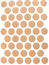 "Self Adhesive PVC Screw Cover Cap  9/16""  WHITE + 50 Colors (1 Sheet 50 caps)"