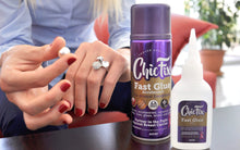 ChicFix Fast Super Glue Bonds in Seconds and We share profits to fight Breast Cancer