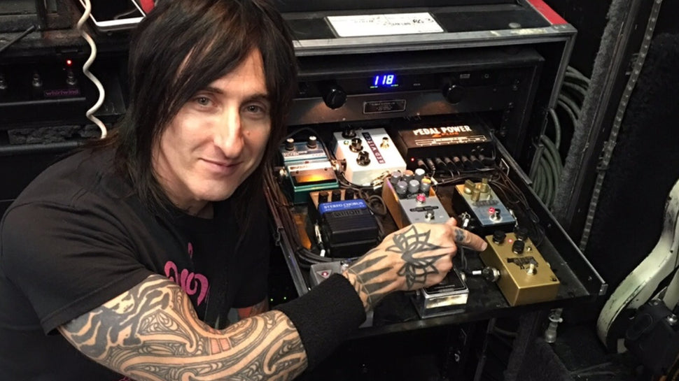 Richard Fortus with his Sacred Cow
