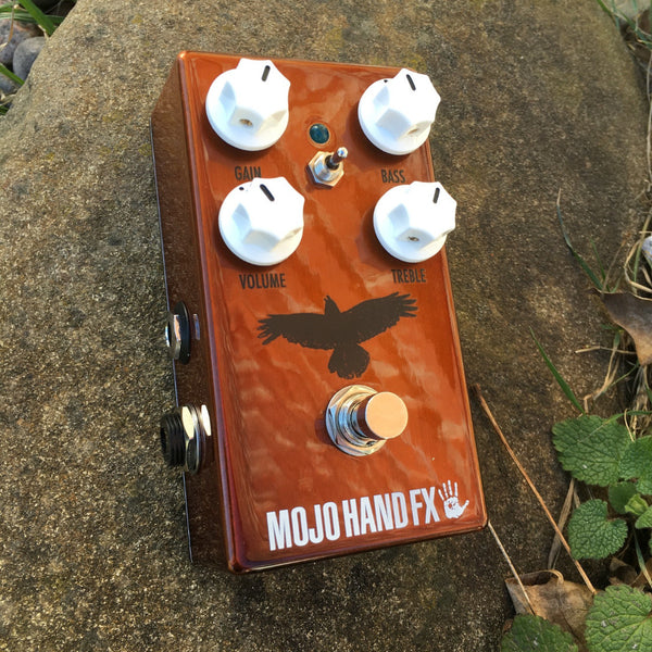 Mojo Hand FX Kensrue Rook - Overdrive w/ Artwork & Color Chosen By Thrice's Dustin Kensrue