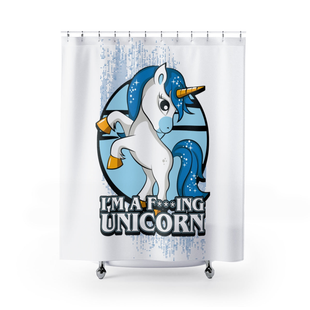 Im A Unicorn Shower Curtains