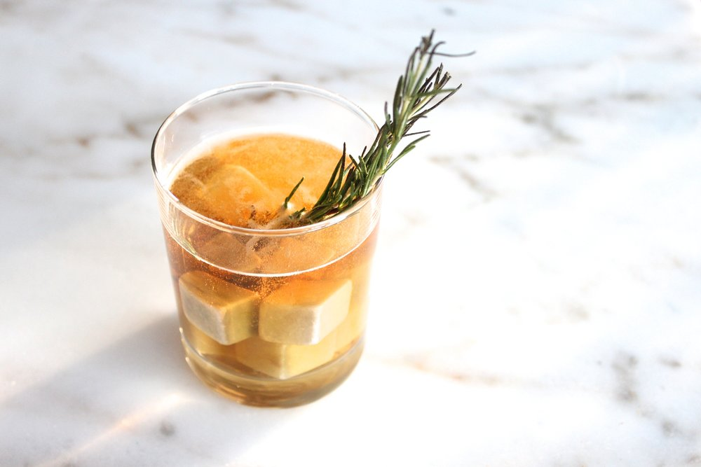 Apple of My Rye Whiskey Cocktail