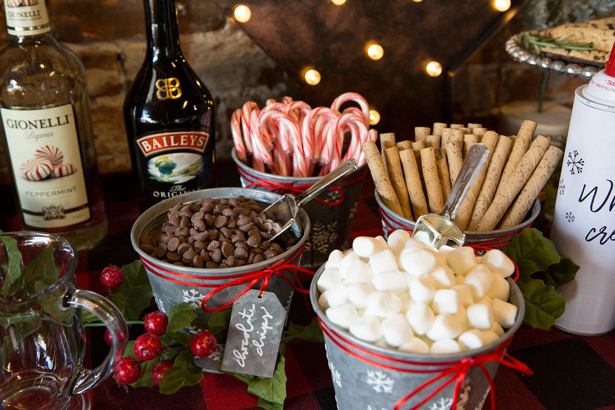 Warm up, Get Lit: Spiked Hot Cocoa Bar