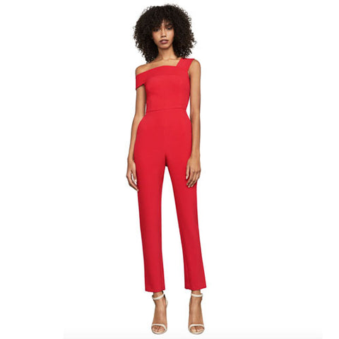 BCBG Haida One-Shoulder Jumpsuit