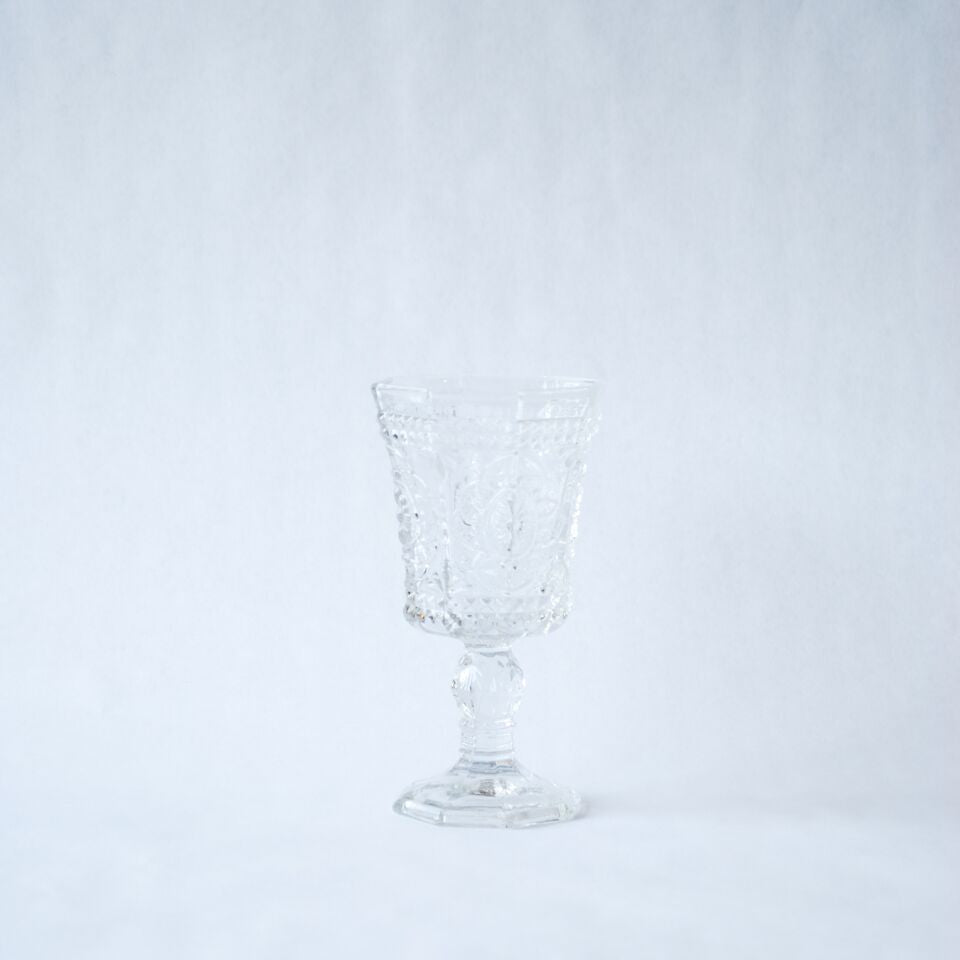 Etched Wine Goblets