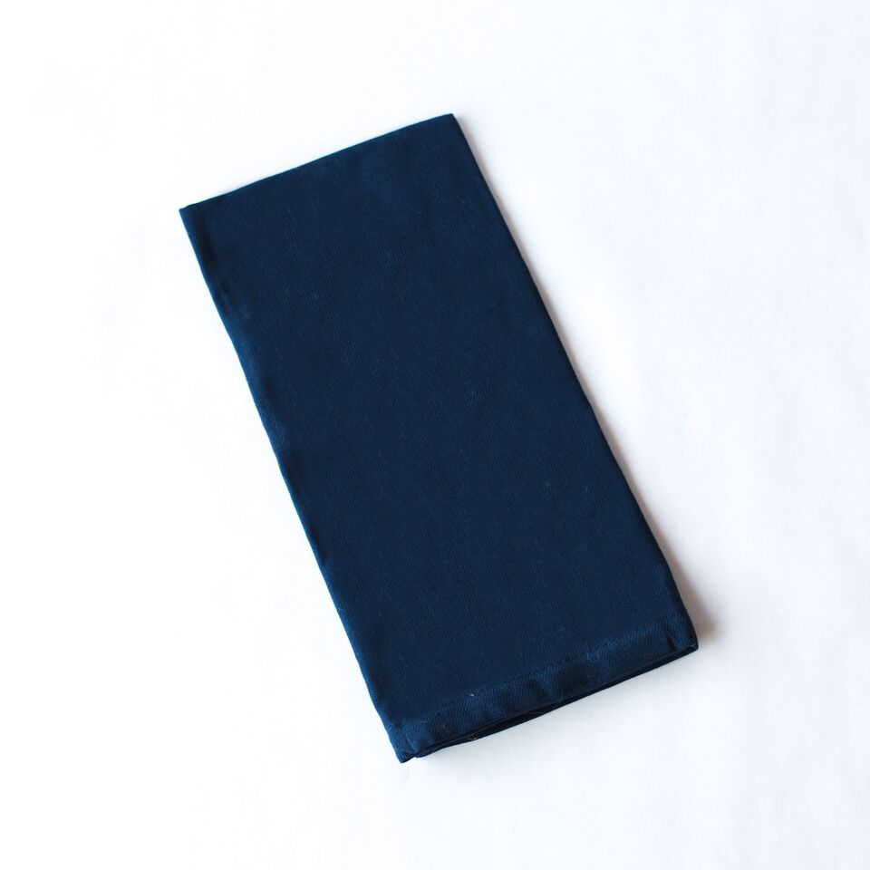 Navy Blue Cloth Napkin