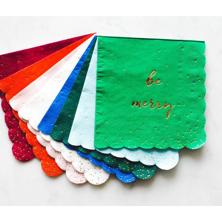 Be Merry! Small Napkins