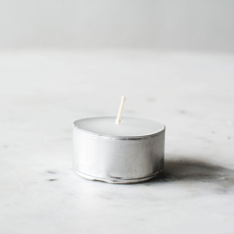 White Tea Lights (Set of 2)