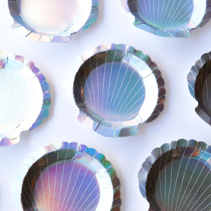 Seashell Small Paper Plates