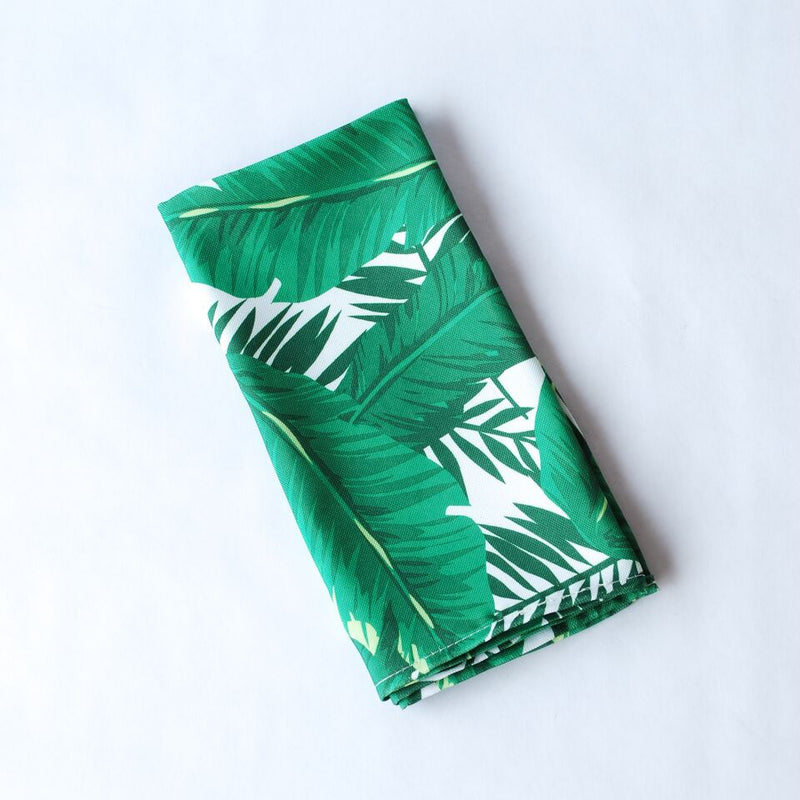 Banana Leaf Cloth Napkin