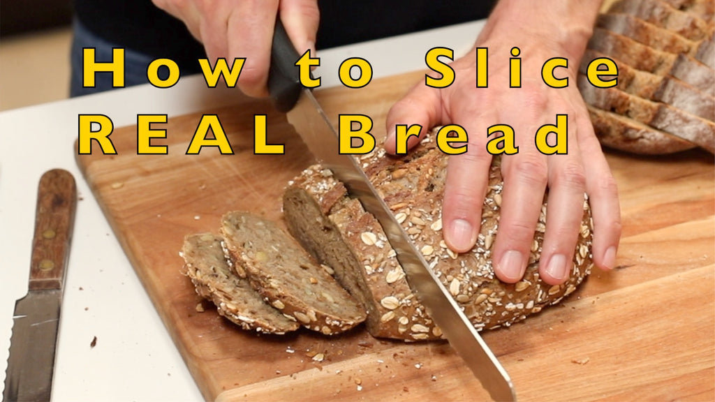 How to Slice REAL Bread