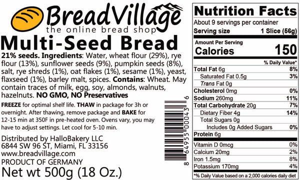 German Multi-Seed Bread