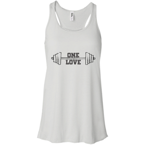 Ladies Flowing One Love Fitness Tank
