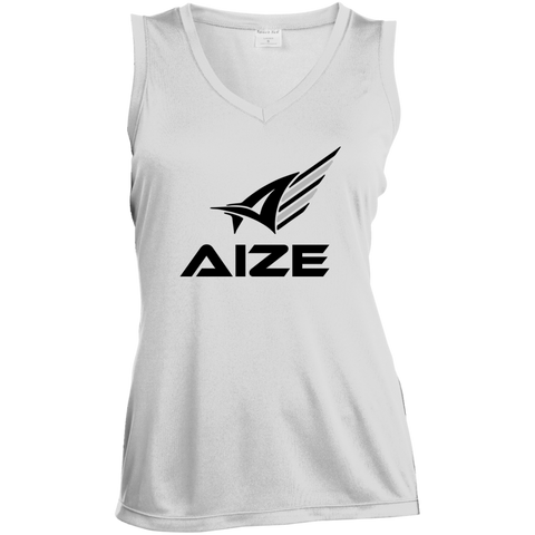 Ladies' Aize Sports Sleeveless V-Neck