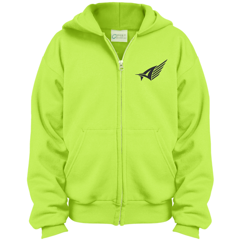 Kids Sporty Zip Up Hoodie