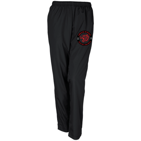 ABQ Ladies Track Pants Red