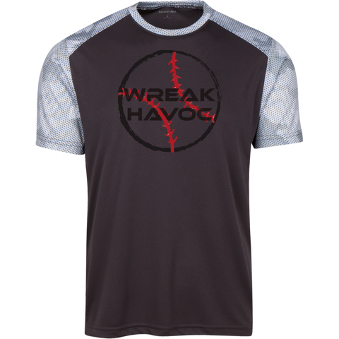 Men's Baseball CamoHex Athletic Shirt