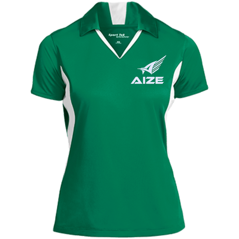 Ladies' Aize V-neck Polo