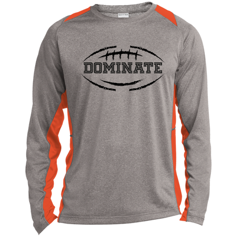 Texas Burnt Orange Football LS shirt