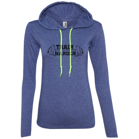 Ladies' Train LS T-Shirt Hoodie
